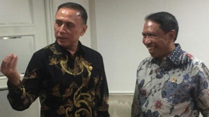 Ketum PSSI Jumpa Menpora Bahas Liga Indonesia, Timnas hingga Piala Dunia U20