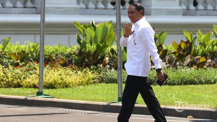 Zainudin Amali Dikabarkan Jadi Menpora di Kabinet Jilid II Presiden Jokowi-Ma'ruf 2019-2024