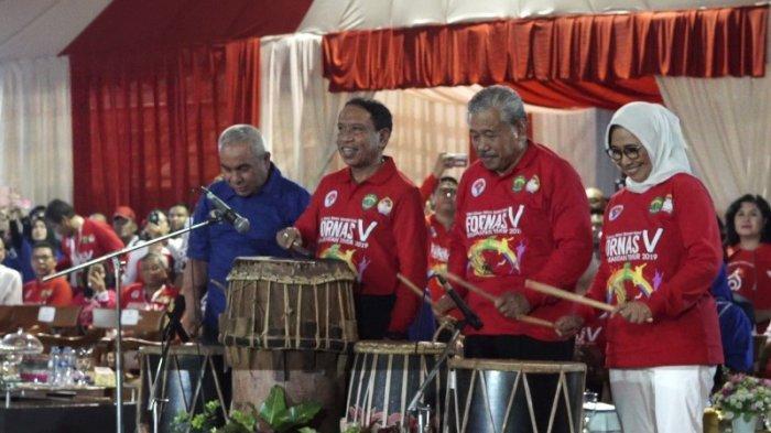 Festival Olahraga Rekreasi Nasional Tengah Digelar di Samarinda