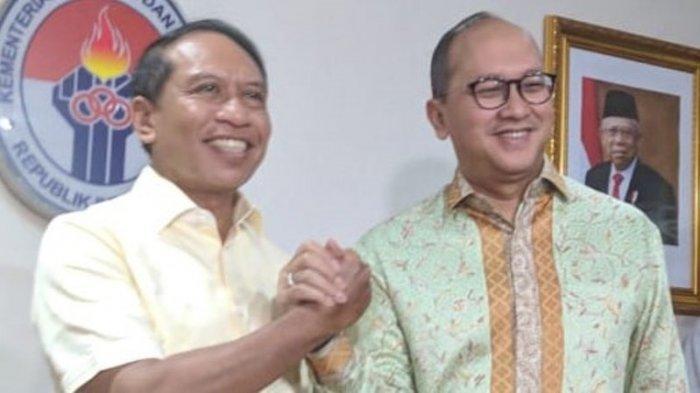 Menpora Minta Rosan P Roeslani Koordinasi Secepatnya Dengan Cabor dan NOC Indonesia
