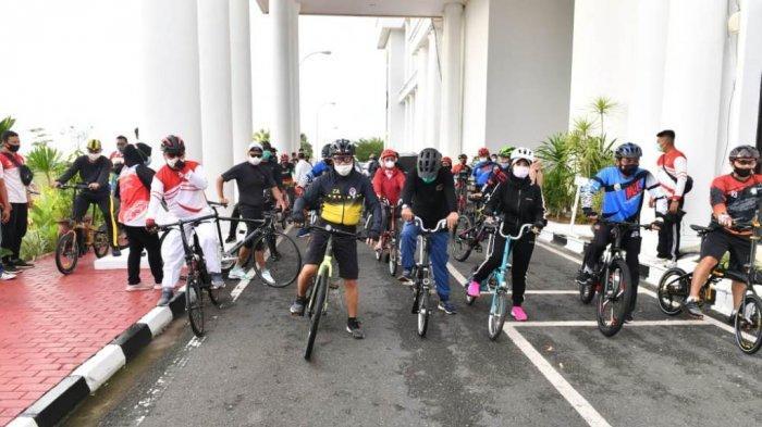 Zainudin Amali Mengajak Masyarakat Untuk Bersepeda Agar Imunitas Tetap Terjaga