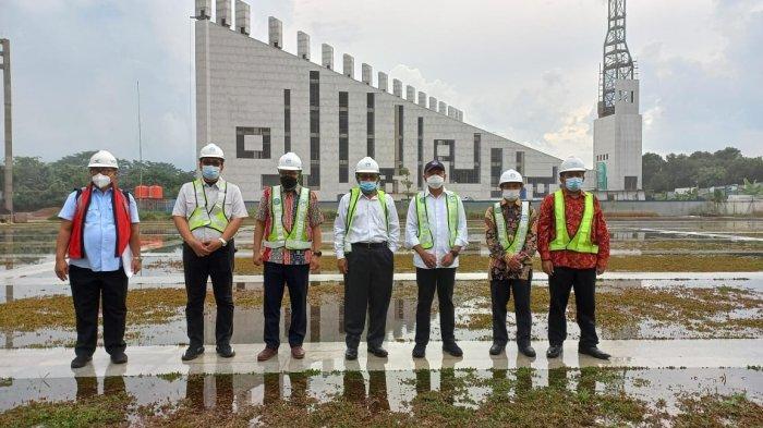 Zainudin Amali Kaget Lihat Pembangunan Gedung Universitas Islam Internasional Indonesia