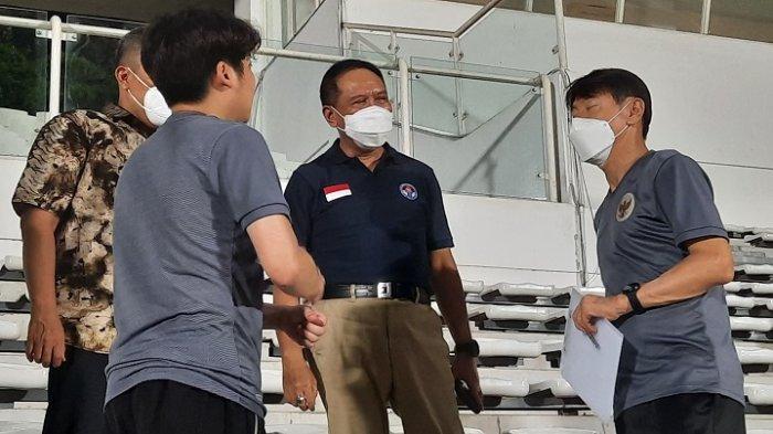 Menpora ke Pelatih Timnas Indonesia Shin Tae-yong: Kalau Ada Apa-apa, Bilang ke Saya