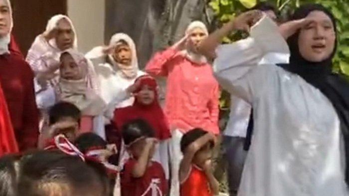 Serunya Keluarga Zaskia Adya Mecca Gelar Upacara dan Lomba 17 Agustus di Rumah