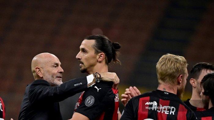 Kejutan Racikan Jitu Stefano Pioli Berlanjut, AC Milan Siap Tumbangkan AS Roma Demi Capolista