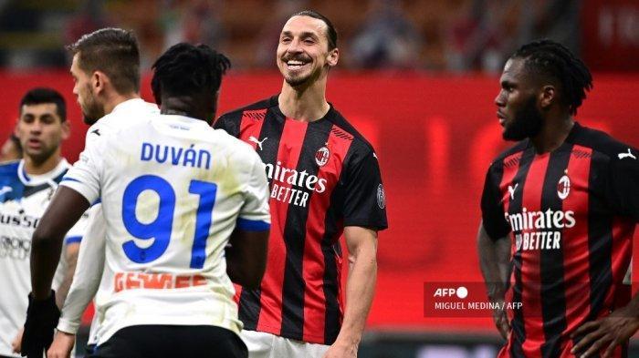 Zlatan Ibrahimovic Sampai Tutup Muka Saat AC Milan Dilumat Atalanta 0-3 di San Siro