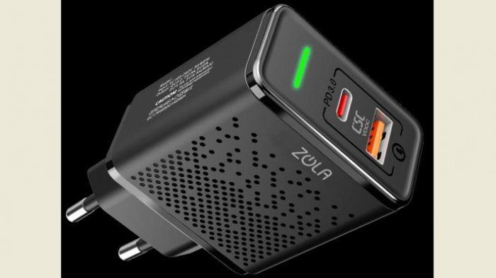 Zola Thunder Bolt Charger Berbekal Teknologi Quick Charge 3.0