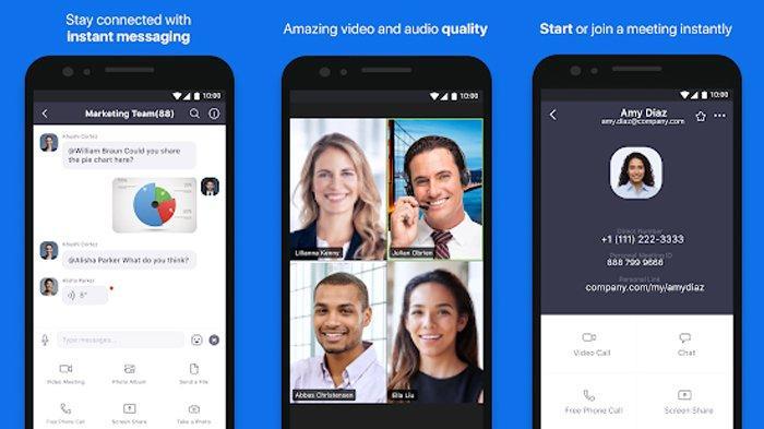 Tutorial Cara Menggunakan Aplikasi Zoom Untuk Rapat Online Lewat Smartphone Dan Komputer Gratis Tribunnews Com Mobile