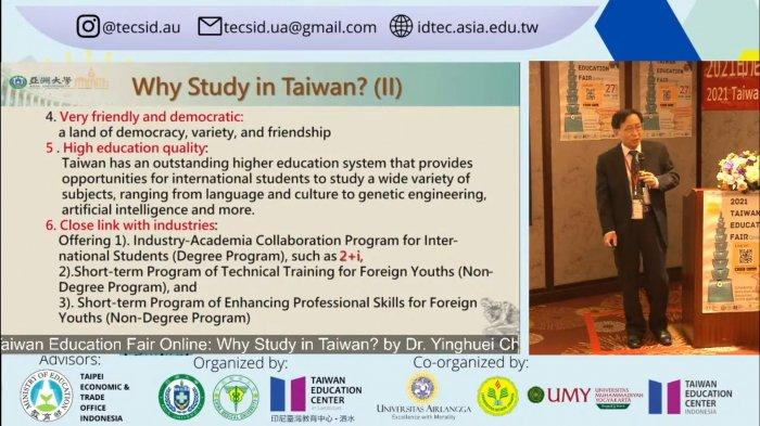 Indonesia Penyumbang Mahasiswa Internasional Terbanyak ke-3 di Taiwan