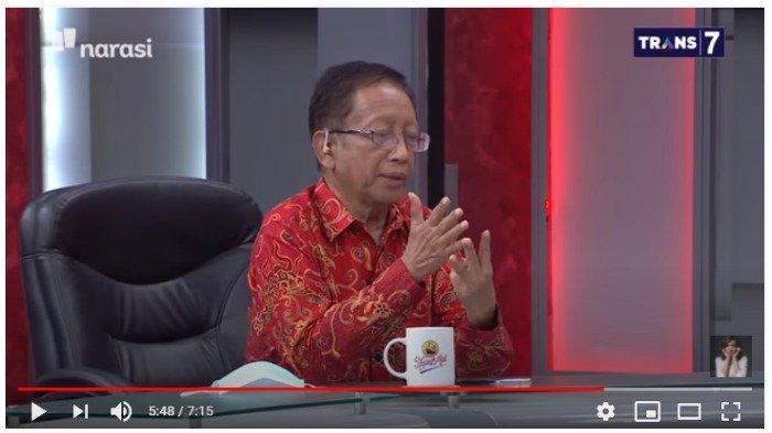 Ketua Dewan Pertimbangan Ikatan Dokter Indonesia ( IDI) Zubairi Djoerban.