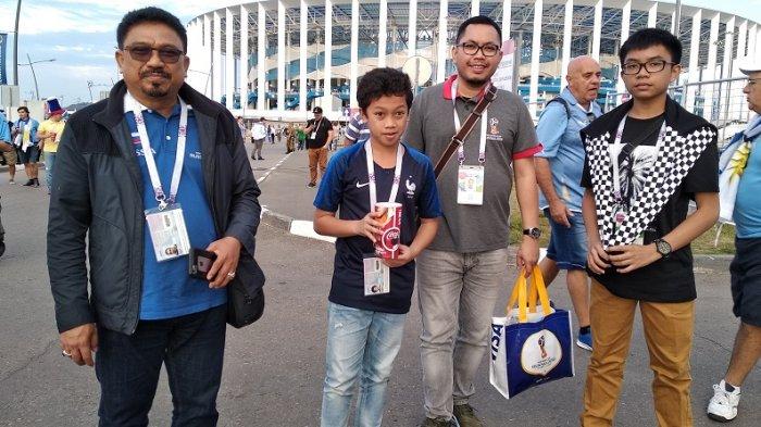 Zulfan Lindan ke Piala Dunia Demi Cucu