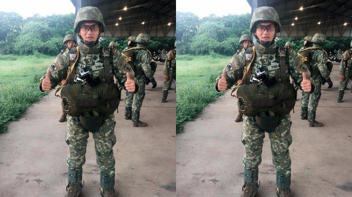 Sosok Anggota TNI Ini Ternyata Anak Aktor Kondang