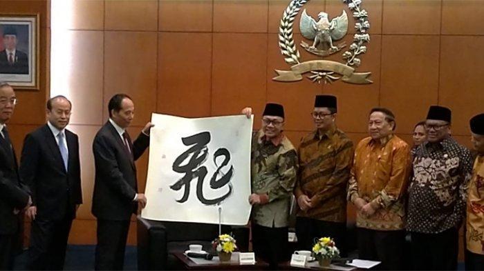 Ketua MPR RI Bertemu Delegasi Kongres Rakyat Nasional, Bahas Keberadaan Islam di Tiongkok