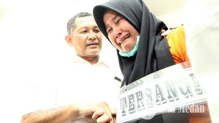 Dari Rekonstruksi Terungkap Istri Sempat Tidur 3 Jam Bersama Hakim Jamaluddin yang Telah Dieksekusi