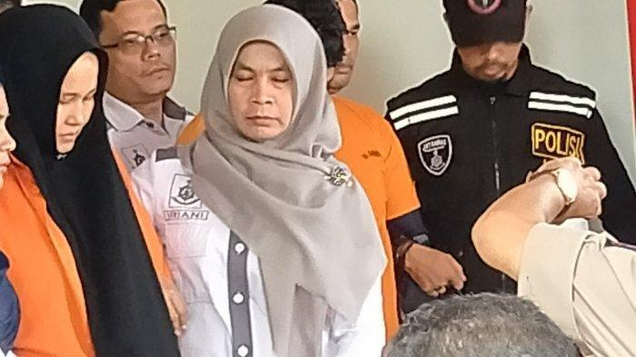 Zuraidah mendapat pengawalan pihak kepolisian Polda Sumut, Rabu (8/1/2020).
