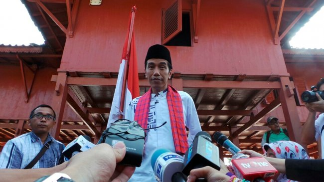 Hari Ini Jokowi akan Jadi Jurkam di Beberapa Lokasi