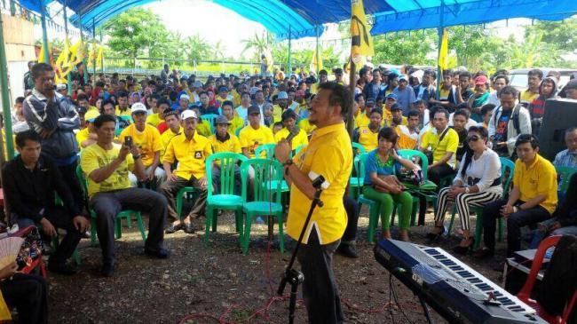 Ical Kampanye di Makassar Kandang JK Akan Hadir 20.000 Massa