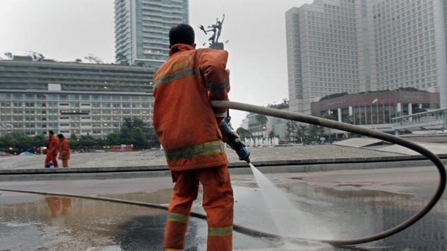 Kereta untuk Jokowi akan Diparkir di Sekitar Bundaran HI