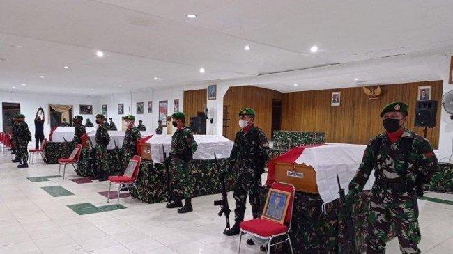 IDENTITAS 4 Anggota TNI yang Gugur Setelah Diserang KKB Papua, Berasal dari NTB hingga Kalimantan