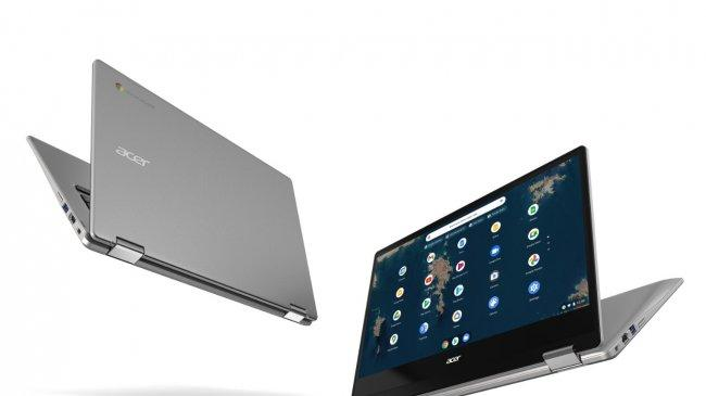 Acer Chromebook Layar Besar, Cocok untuk Kerja Hybrid, Sekolah dan Hiburan