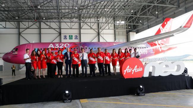 AirAsia Mulai Operasikan Pesawat Airbus A320neo
