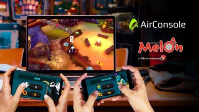 AirConsole dan Melon Indonesia Bikin Kolaborasi untuk Memanjakan Pemain Gim Rumahan