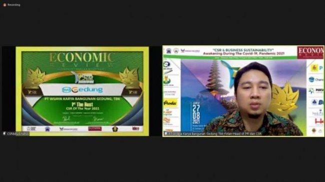 WEGE Sabet Dua Penghargaan di Ajang ICSRA IV 2021