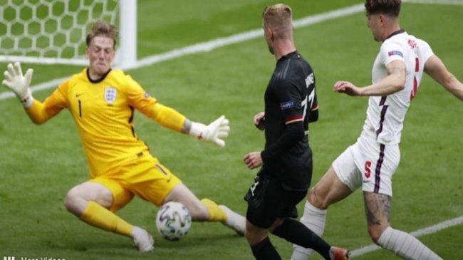 Jadwal Ukraina vs Inggris Euro 2021, Pickford Singgung Gawang The Three Lions yang Belum Kebobolan