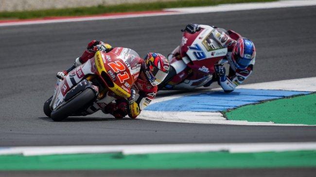 Sempat Terobos 10 Pebalap di Moto2 Belanda, Pebalap Federal Oil Gresini Tutup Paruh Musim di 5 Besar