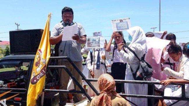 Pelajar SMP di Pulau Buru Protes Pernikahan Dini Usai Temannya Menikah dengan Tokoh Agama