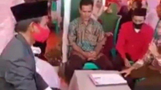 Viral Video Pengantin Pria Talak Istri Sesaat setelah Ijab Kabul, Rupanya Ini Penyebabnya