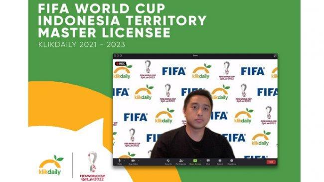 Startup dari Indonesia Dapat Lisensi Penayangan Piala Dunia 2022 dan Piala Dunia U-20