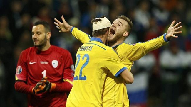 Ukraina Juga Lolos ke Putaran Final Piala Eropa 2016