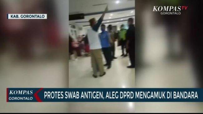 Polisi Periksa Anggota DPRD Gorontalo yang Ngamuk di Bandara Tolak Tes Antigen Covid-19