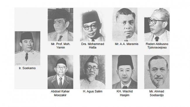 Tugas dan Anggota Panitia Sembilan, Ditugaskan untuk Merumuskan Dasar Negara