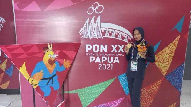 SOSOK Anggun Nurajijah, Atlet Judo yang Raih Medali Emas di PON Papua, Anak Penjual Tahu Keliling