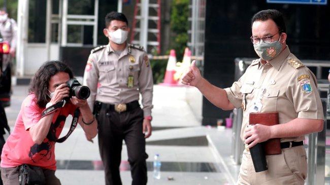 Anies Baswedan Diperiksa KPK Selama 5 Jam soal Pengadaan Tanah di Munjul, Diberi 8 Pertanyaan