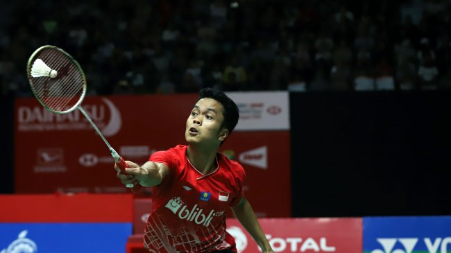 Hasil Piala Thomas 2021: Anthony Ginting Tumbangkan Lee Zii Jia, Indonesia Curi Poin Pertama