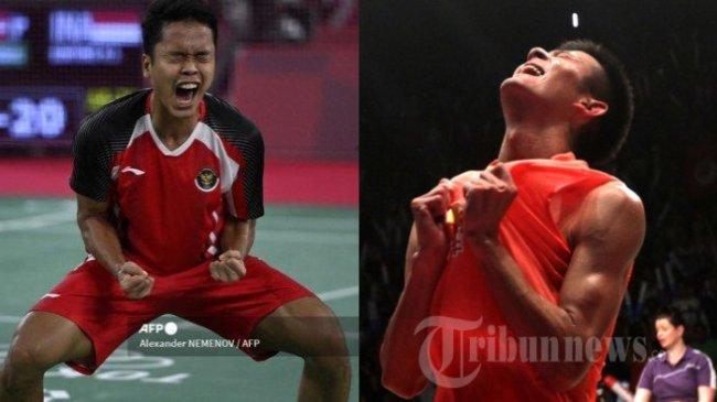 Head to Head Ginting vs Chen Long, Semifinal Badminton Olimpiade 2021 Jadi Pertemuan ke-13
