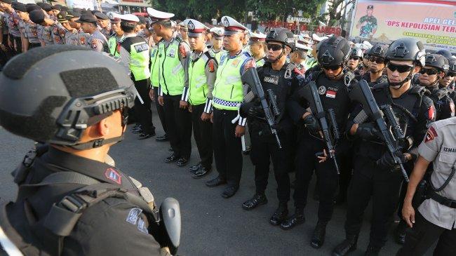 Selain Tegas, Jokowi Minta Polri Juga Berwajah Ramah