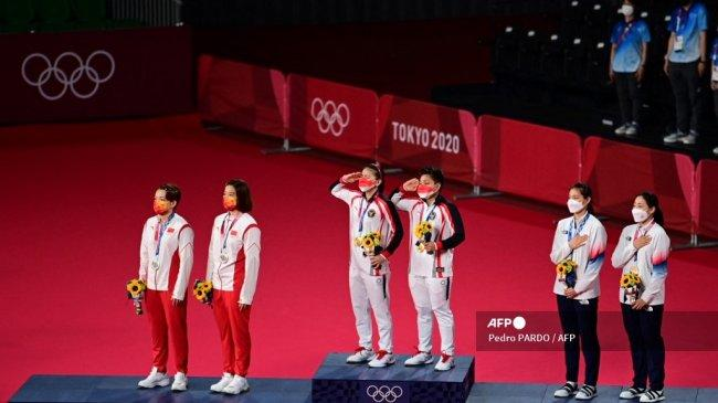 Olimpiade 2021 - Misi Medali Emas Kandas, Chen/Jia Bongkar Penyebab Kekalahan Lawan Greysia/Apriyani