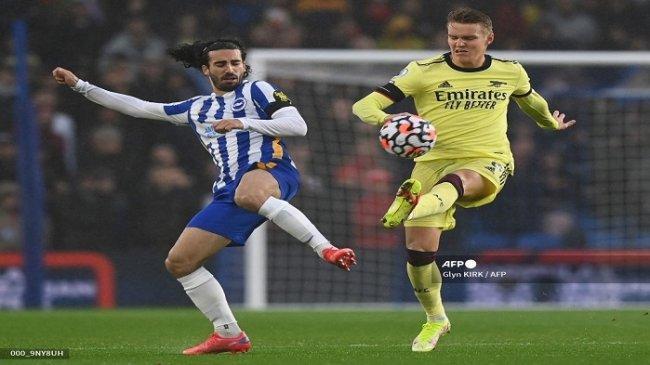 Hasil Brighton vs Arsenal, Serangan Tuan Rumah Sporadis, Arteta Perlu Solusi Paruh Kedua