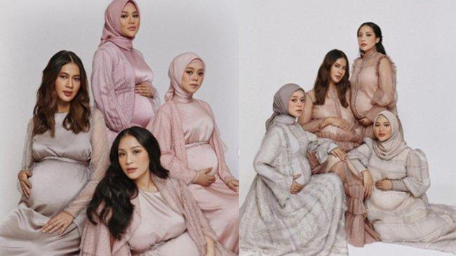 Aurel Hermansyah Sharing Kehamilan dengan Nagita dan Paula, Diminta Jangan Sering Baca Komentar