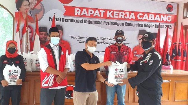 Bantu Warga Terdampak Covid-19, TMP Bagikan 3.000 Paket Sembako dan Masker di Jabodetabek