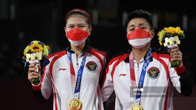 Raih Emas Olimpiade, Menparekraf Mau Ajak Greysia/Apriyani Keliling Destinasi Super Prioritas