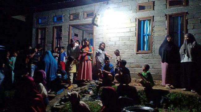 Berteduh di Gubuk Tengah Sawah, Ayah dan Anak Tewas Tersambar Petir