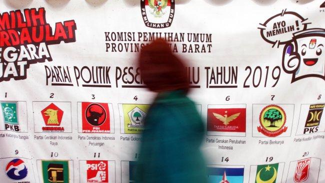 Survei Voxpol Center: Elektabilitas Gerindra Tertinggi, Diikuti PDIP dan PKS