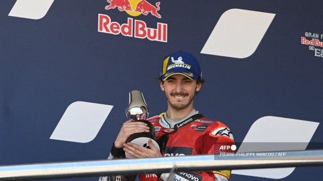Hasil Kualifikasi MotoGP San Marino 2021: Bagnaia Pole Position, Quartararo Ketiga, Marquez Posisi 7