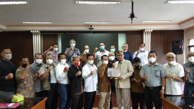 Bahas Penanganan Banjir, Forum RW BSK dan Kayuringin Jaya Audiensi ke DPRD Kota Bekasi