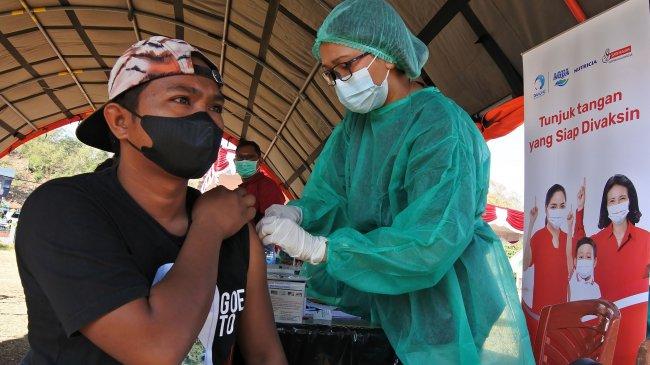 Update Vaksinasi Covid-19: Lebih dari 64 Juta Warga Indonesia Sudah Disuntik Vaksin